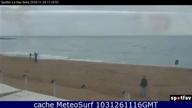 Webcam Platja de La Mar Bella